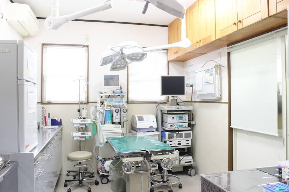 めじろ台どうぶつ病院(旧 大津動物病院)の内観画像