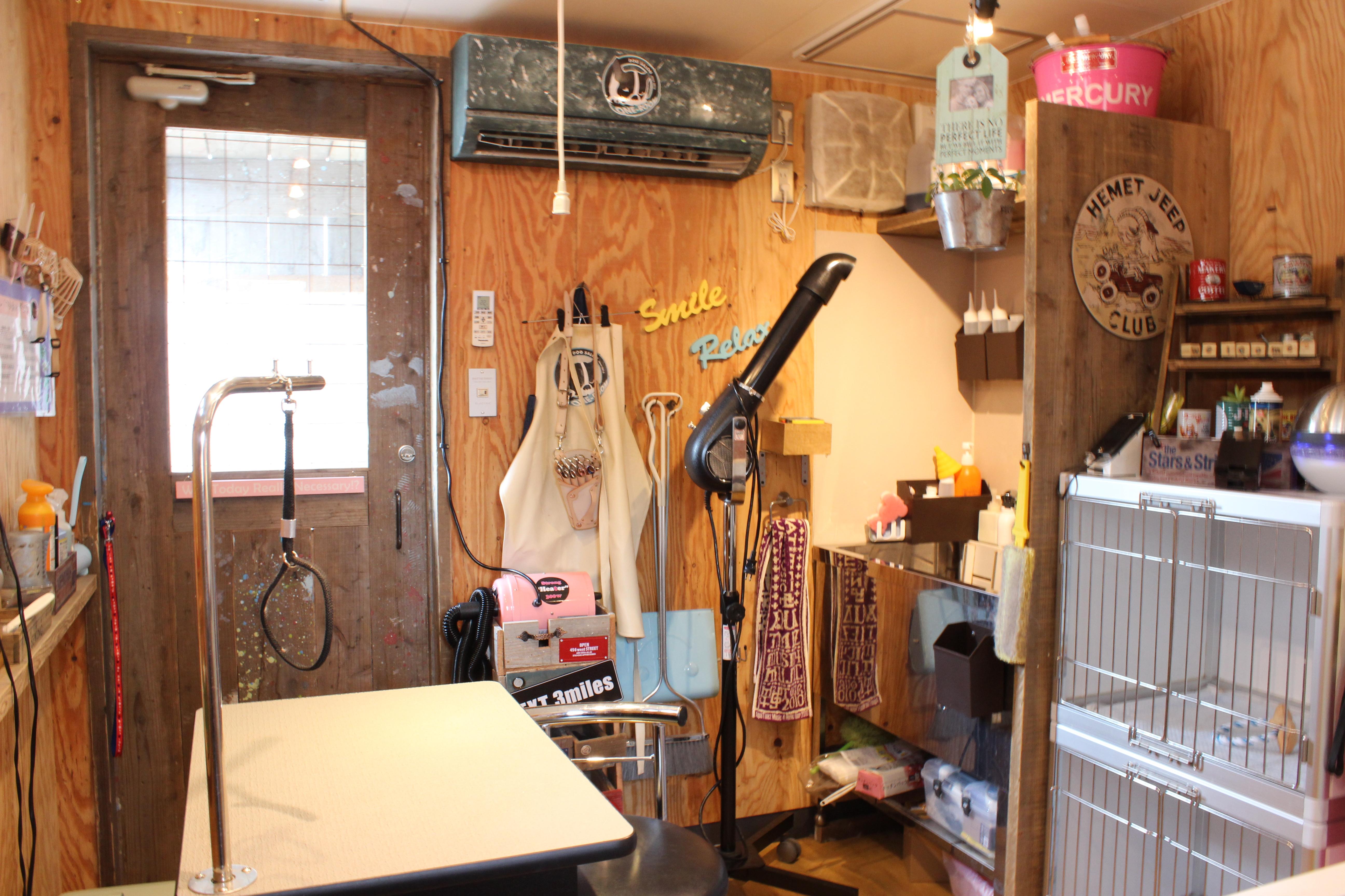 Dog salon ONE ROOM