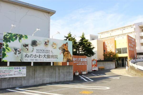 ぬのかわ犬猫病院 戸塚本院外観写真