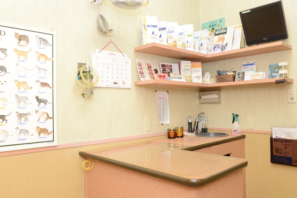 オリーブ動物医療センターグループ なぎつじ動物病院の内観画像