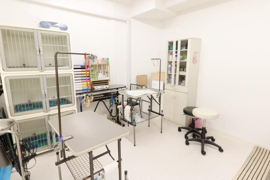 ユナイテッド豊島ワンニャン動物病院(トリミング)内観写真