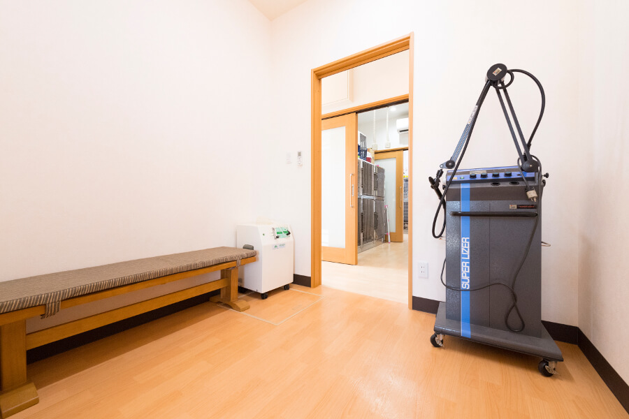 痛みを和らげ健康増進を図ることができる機器です