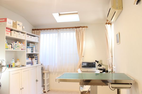 動物病院に併設されたサロンとして、健康面でのサポートに定評あり