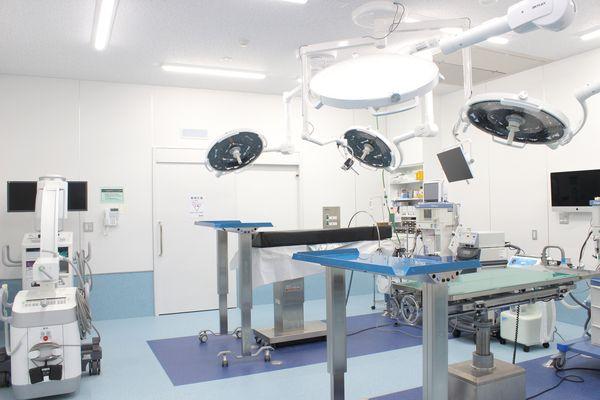 様々な外科手術に対応しています