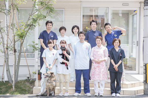 砂輝動物病院 スタッフ写真