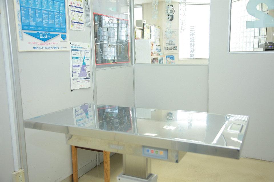 岡山動物がんセンター・三宅動物病院診察室写真