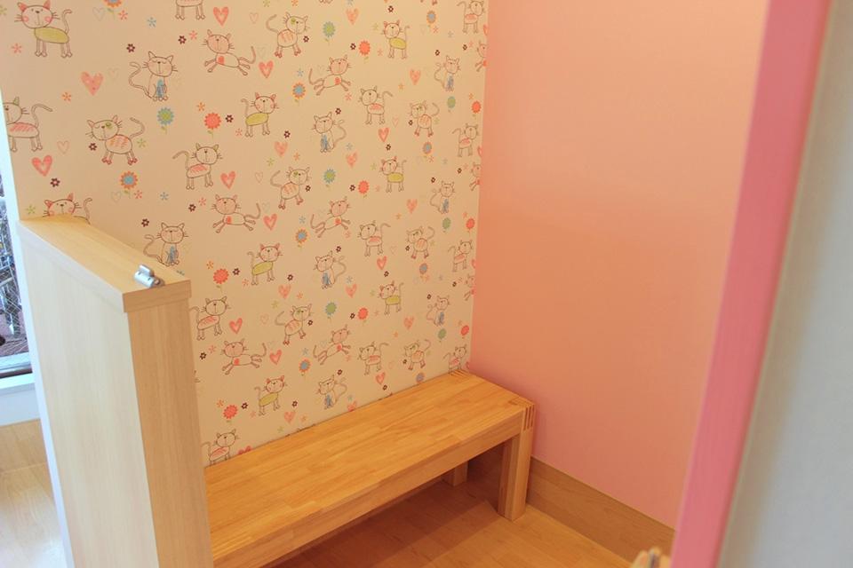 個室スペースも完備