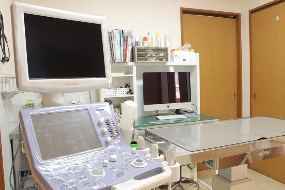 青葉台犬猫病院の内観画像