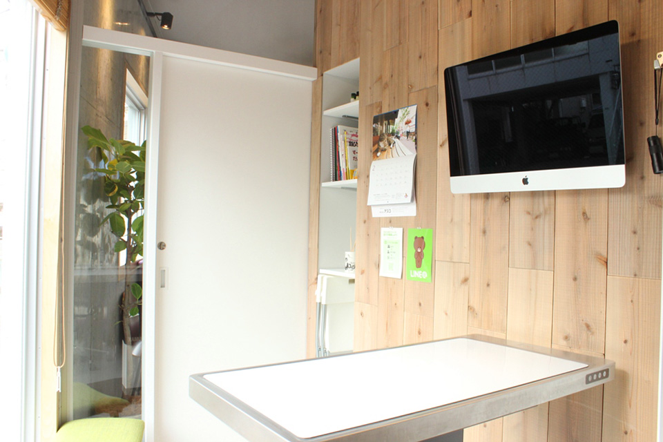 バンブーペットクリニックの診療室画像