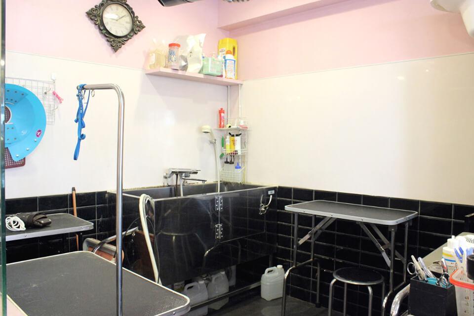 Briller(ブリエ)トリミング室写真