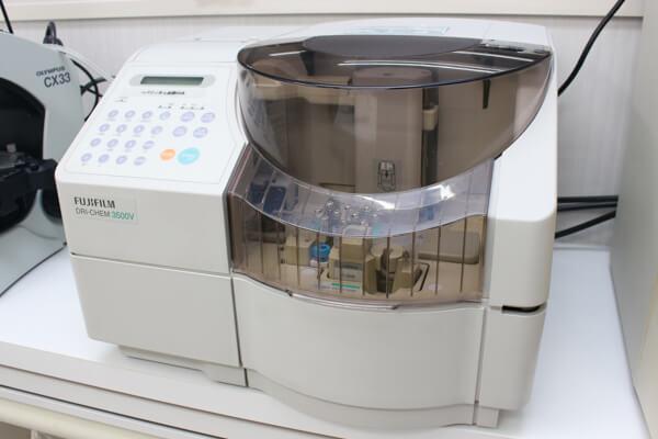 各種検査機器を完備