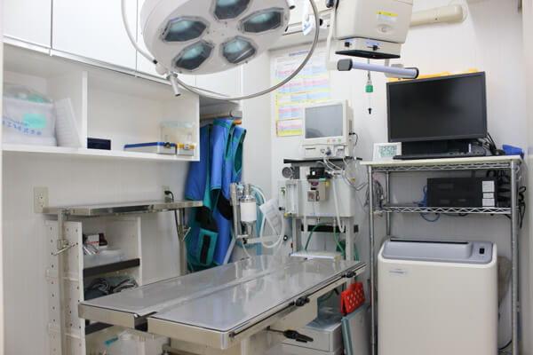 手術室です