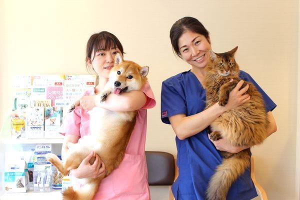 そら動物病院 集合写真
