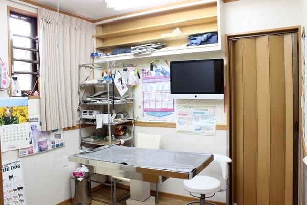 潤井戸西山ペット病院の内観画像