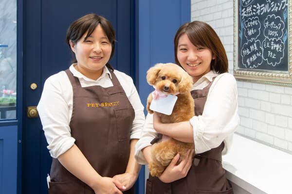 PET-SPA オリナス錦糸町店 スタッフ写真