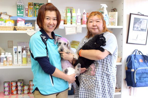 NATURAL PET SALON dog spa